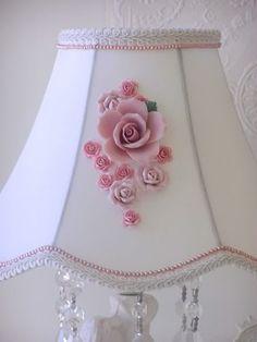 Items similar to OMG. Gorgeous Shabby Chic Lamp Shade Pink Roses Romantic Home Decor Marie Antoinette Paris Ooh La La on Etsy Shabby Chic Lighting, Shabby Chic Lamp Shades, Rustic Lamp Shades, Chandelier Shades, Shabby Chic Mode, Shabby Chic Pink, Shabby Chic Style, Shabby Chic Decor, Contemporary Lamp Shades
