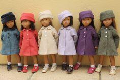 Adorable vintage Sasha dolls.