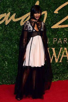 Naomi Campbell Design: Burberry Prorsum