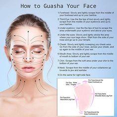 Natural Facial Massage Tool Guasha Beauty Jade Roller Face Thin Massager Gut W0D