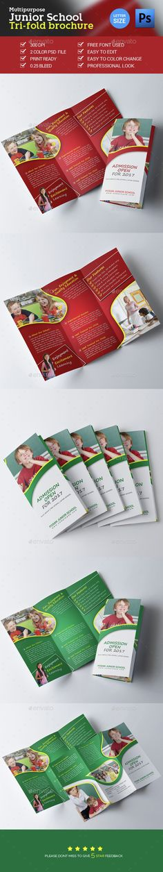 Junior School Admission Trifold Brochure