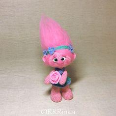 Купить Розочка (Тролли 2016) - мультяшки, мультяшный герой, мультфильм, тролли, тролль