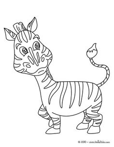 Do You Like AFRICAN ANIMALS Coloring Pages Can Print Out This Zebra Pagev