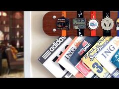 Marathon Medal Display - Running Gifts for Mens Runners - YouTube