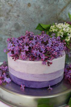 Ombre icecream cake