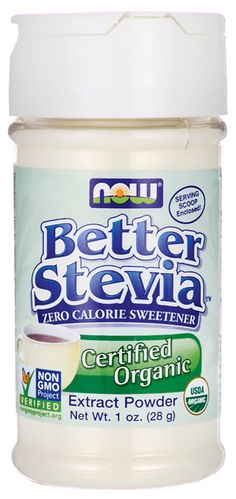 NOW Foods Better Stevia Extract Powder 1 oz Pwdr - Swanson Health Products