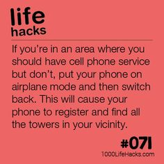 The post – Getting Your Phone Service Back appeared first on 1000 Life Hacks. The post – Getting Your Phone Service Back appeared first on 1000 Life Hacks. Hack My Life, Simple Life Hacks, Useful Life Hacks, Awesome Life Hacks, Survival Tips, Survival Skills, Survival Quotes, Camping Survival, Camping Hacks