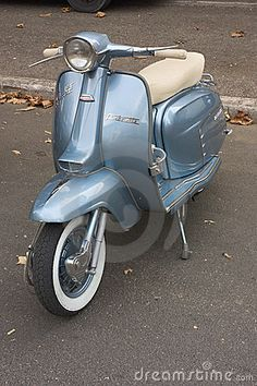 Old italian scooter Lambretta exposed at meeting of fans of vintage car and motorcycle Mostrascambio 2011 on SEPTEMBER 2011 in Gambettola (FC) Italy Piaggio Scooter, Scooter Motorcycle, Retro Scooter, Scooter Girl, Vintage Vespa, Vintage Cars, Motor Scooters, Vespa Scooters, Retro Roller