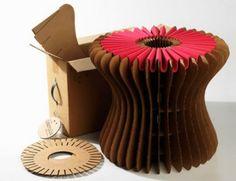 Creative Cardboard Furniture By Karton Design Eco Furniture, Cardboard Furniture, Furniture Design, Furniture Making, Cardboard Chair, Cardboard Design, Cardboard Art, Karton Design, Corrugated Fiberboard
