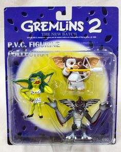 GREMLINS 2 PVC 3 figures Gizmo, Mohawk and Girl Jun Planning JAPAN