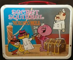 Secret Squirrel and Morocco Mole (with Squidly Diddly and The Captain) - 1966
