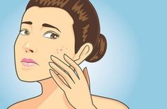 Pimples and its marks or dark spots could be really annoying. Here are 15 best ways by which you can remove pimples and pimple marks or dark spots in 2 days only. Home Remedies For Acne, Skin Care Remedies, Acne Remedies, Natural Remedies, How To Remove Pimples, How To Get Rid Of Acne, Acne Reasons, Pimples Under The Skin, Pimple Marks