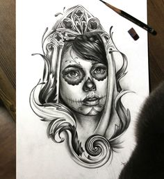 Sketch by Maria agafonova