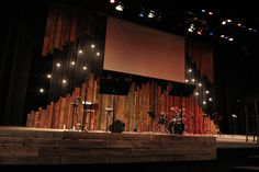 Pallet Gaps from Santa Cruz Bible Church in Santa Cruz, CA | Church Stage Design Ideas