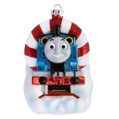 Thomas the tank engine train and friends Christmas Ornament