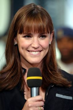 More Pics of Jennifer Garner Long Straight Cut with Bangs