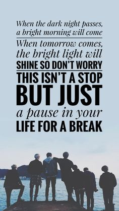 Quotes of Bts song lyrics collection. Do check my book! Bts Song Lyrics, Bts Lyrics Quotes, Bts Qoutes, Music Lyrics, Pop Lyrics, Army Quotes, New Quotes, Life Quotes, Inspirational Quotes