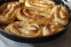 Bosnian Sirnica recipe. A cheese pie that is the equivalent of Balkan fast food. (No Recipe)   Bosnia and Herzegovina