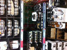 Premium product shelves
