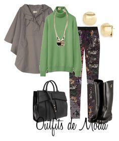 Días de Lluvia by outfits-de-moda2 on Polyvore featuring moda, Uniqlo, Toast, Preen, SuperTrash, Z Spoke by Zac Posen, Marco Bicego and Lizzie Fortunato