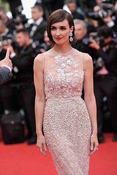 Paz Vega in Elie Saab Couture, Cannes 2014