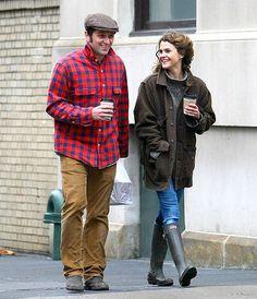 Keri On! The Americans costars Keri Russell and Matthew Rhys grabbed coffee together in Brooklyn, N.Y., on Jan. 4.