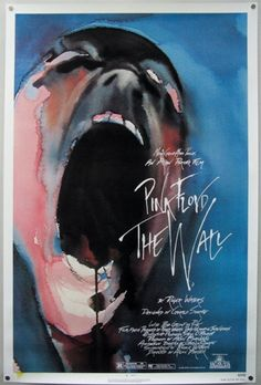 Pink Floyd The Wall. Designed by Gerald Scarfe.