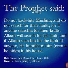 Ufff mere Allah .... Bht bura kaam hai phir doosron ki galtian dhoond na :(