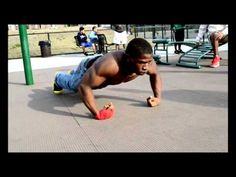 Street Workout - killer push-ups
