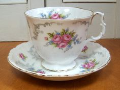 Tranquility Royal Albert Cup and Saucer - Made in England on Etsy, $22.99