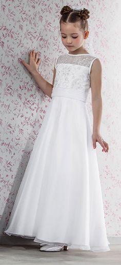 Modern Day Vintage First Communion Dress - Emmerling 70146 - New 2015 - Emmerling Communion Dress 70143 - Age 7 8 9 10 11 - 1st Communion dress -