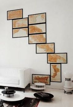 Cool Idea For Using Maps As Accessories