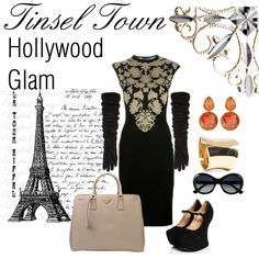 """""""Hollywood Glam"""" by me on my Polyvore"""