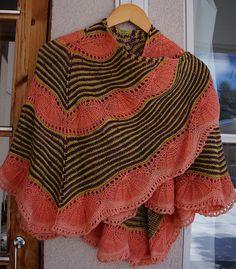 Ravelry: Baobab shawl pattern by Niina Risulainen