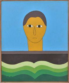 Antonio Maia. Ex-Voto (1979). Acrilica sobre Tela. 41x33 cm