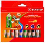 """Les crayons Woody de Stabilo pour écrire de toutes les couleurs au tableau... """"whaaaa maitresse tes crayons sont magiiiiques"""" (témoignage réel ;))"""