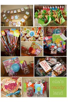 Candyland party idea. The theme I want to use for one of Trenton's birthday partys.