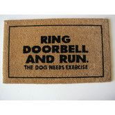 Found it at Wayfair - Ring Door Bell Doormat