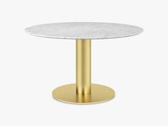 Modern Classic Interior, Forma Circular, Round Dining Table, Messing, White Marble, White Tops, Modern Contemporary, Home Decor, Products