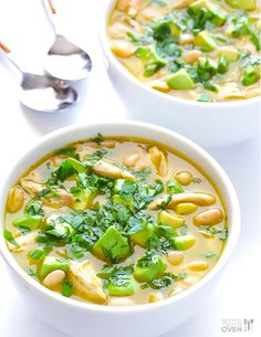 White Chicken Chili | 24 Dump Dinners You Can Make In A Crock Pot