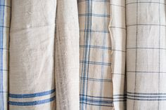 Miss Mustard Seed   Stacks and Rolls of Linen   Miss Mustard Seed share her recent European linen finds for the upcoming Lucketts Spring Market