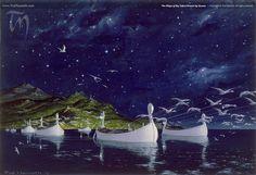 The Silmarillion Images Ted Nasmith | Árvore Branca de Numenor