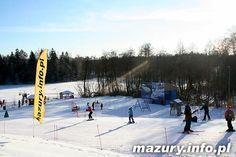Początek sezonu narciarskiego na Mazurach