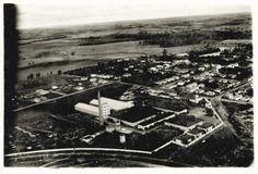CRAI - Castro Ribeiro Agro Industrial. Indústria de Conservas Alimentícias. Monte Alto/SP.  Década de 1940.
