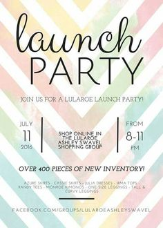 7 exceptional launch party invitation wording ideas pinterest httpsfacebookgroupslularoeashleyswavel lularoe launch more information more information launch party invitation stopboris Choice Image