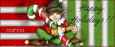 "Venomous Creations: No Scraps Forum - ""Holiday Elf"" Paint Shop, Grinch, Elf, December, Scrap, Xmas, Holiday, Painting, Vacations"