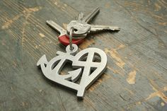 Faith, Hope, Love | ΣΣΣ | Absolutely darling keychain!