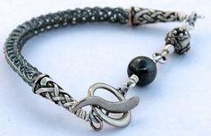 Stainless Steel Viking Weave Bracelet on Etsy, $15.00 CAD