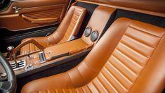 1969 Lamborghini Miura P400s interior