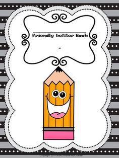 Friendly Letter Writing Kit-Differentiated Writing Topics, Writing Goals, Writing Strategies, Writing Paper, Letter Writing, Teacher Hacks, Best Teacher, Creative Teaching, Teaching Ideas